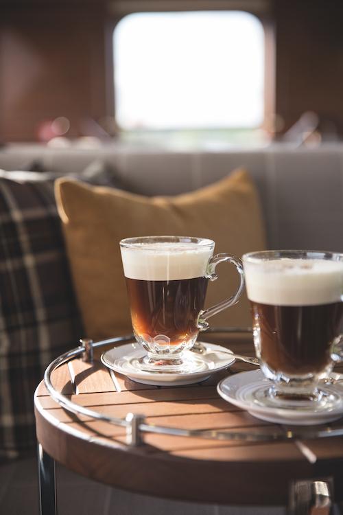 Belmond Grand Hibernian irish coffee