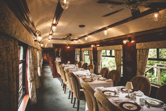 Belmond Royal Scotsman restaurant