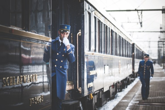 Belmond Venice Simplon Orient-Express train platform