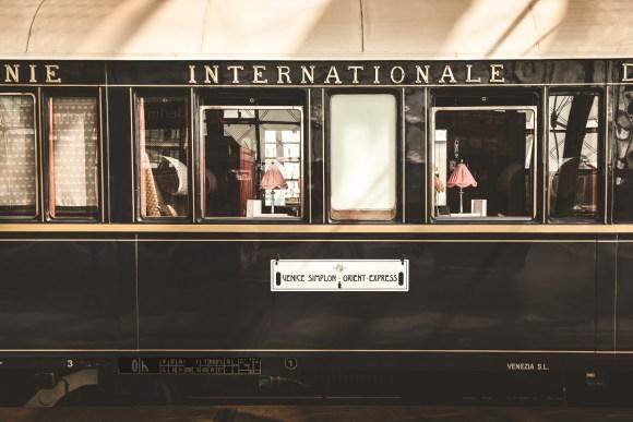Belmond Venice Simplon Orient-Express train exterior