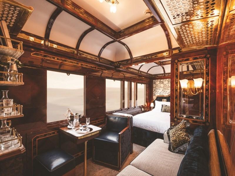 Belmond Venice Simplon Orient-Express train cabin