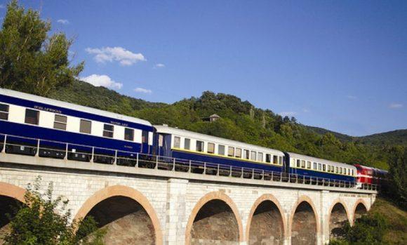 Golden eagle danube express train