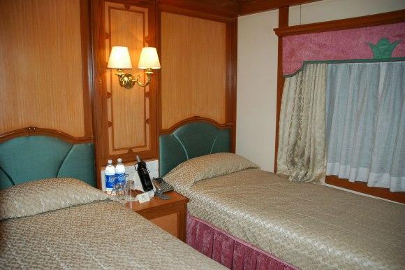 Deccan Odyssey India train twin cabin