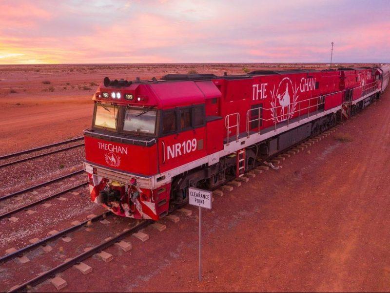 australia & New Zealand train trips