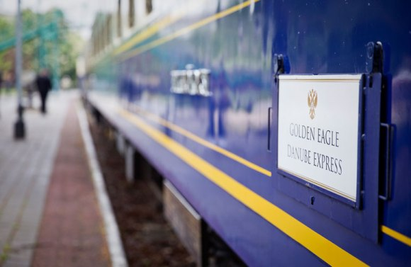 Golden eagle danube express train livery
