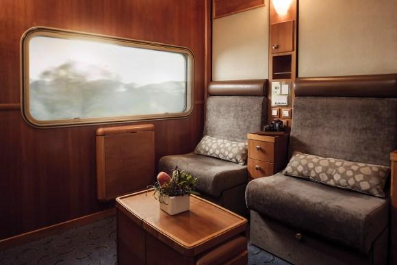 The Ghan train Australia platinum service