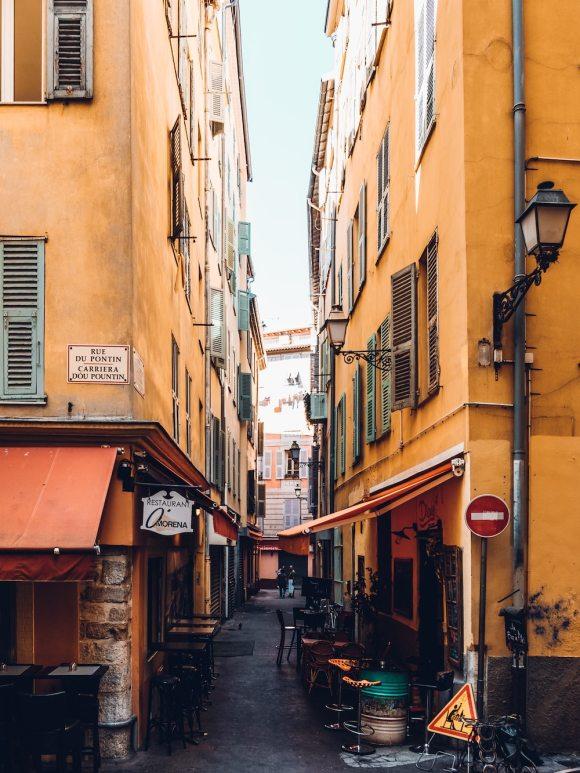 Nice france streets