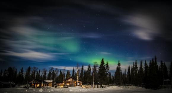 The Arctic Circle Sleeper train