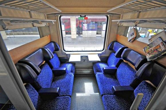 obb nightjet seating carriage