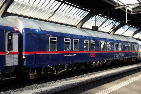 OBB Nightjet train
