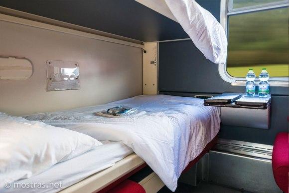 premium cabin thello train