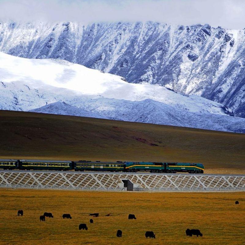 Qinghai-Tibet Train railway