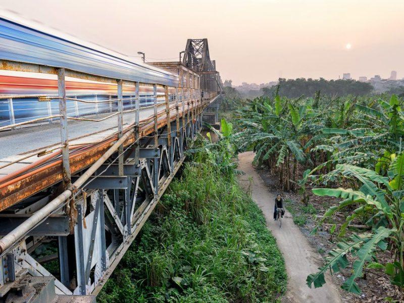 Reunification Express vietnam train