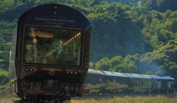 Seven Stars in Kyushu train Japan exterior