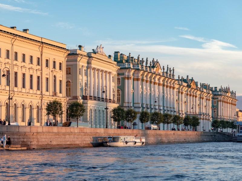 St Petersburg russia neva
