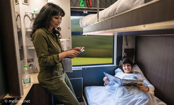 standard bed thello train
