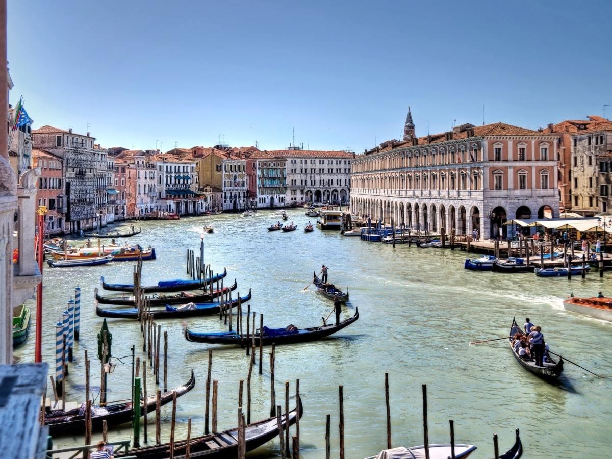 Europe: Paris to Venice train