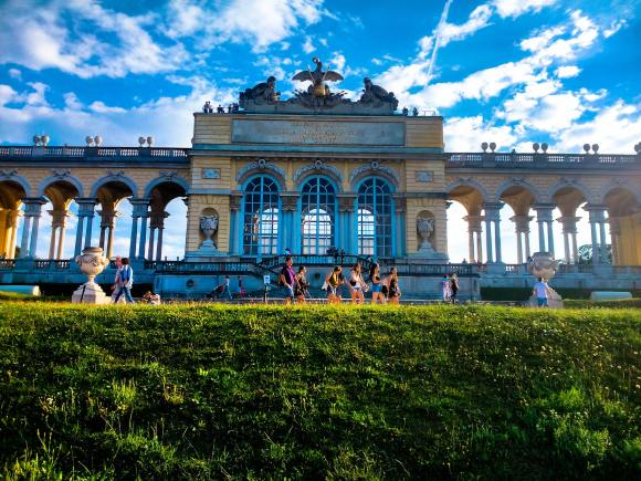 Vienna Schönbrunn Palace gloriette