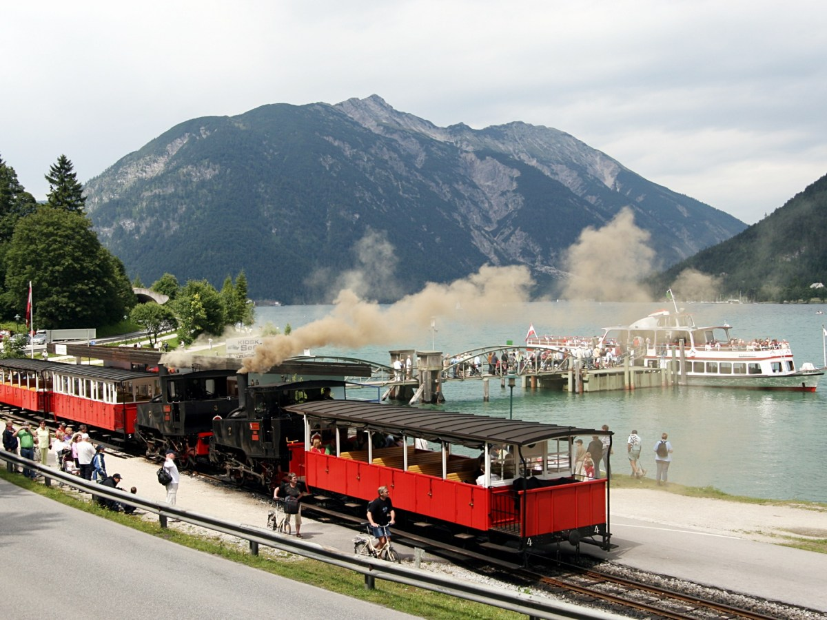 Achensee railway train