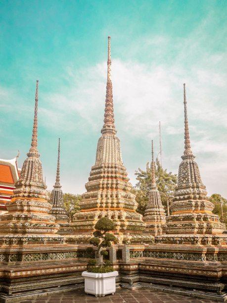 Bangkok thailand temple
