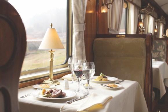 Belmond Hiram Bingham dining room