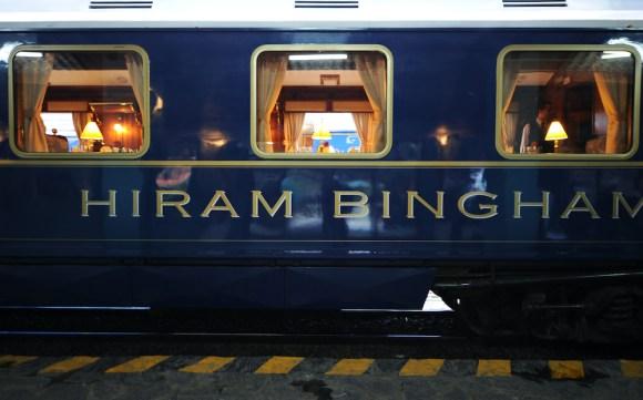 Belmond Hiram Bingham livery