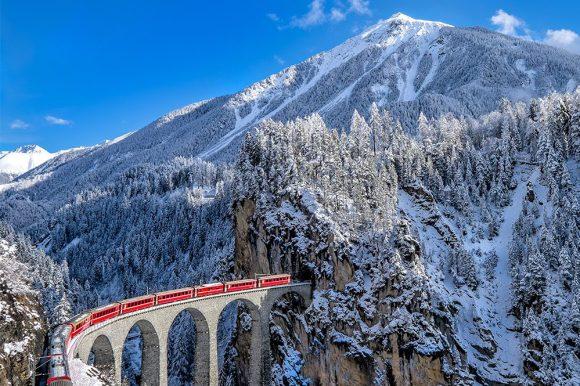 glacier express switzerland train
