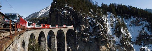 glacier express train Switzerland