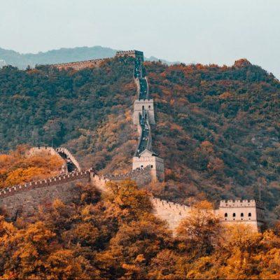 Great Wall of china train