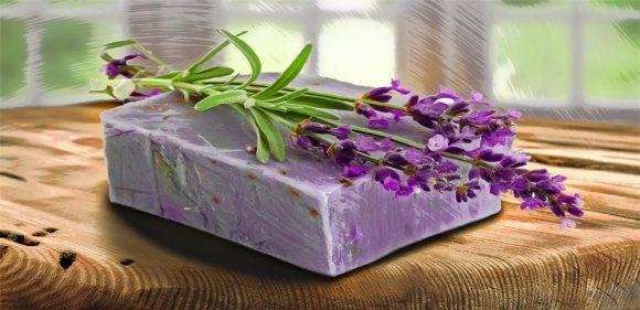 lavender soap Avignon