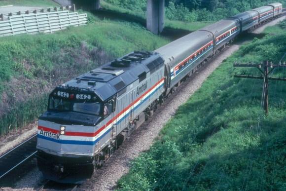 maple leaf train Amtrak