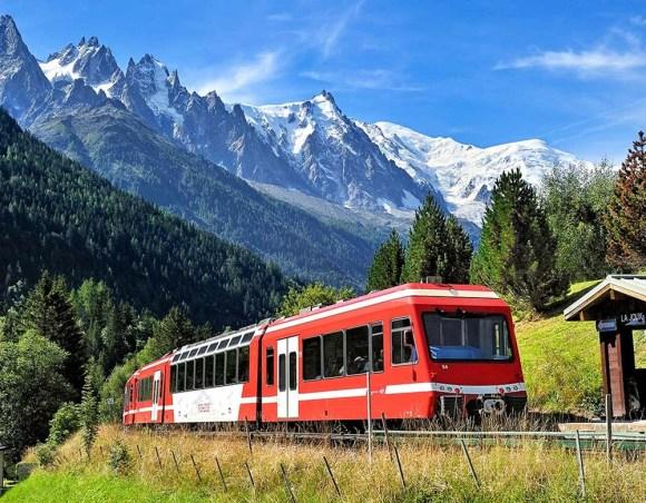 mont blanc express train