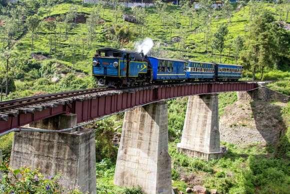 Nilgiri Mountain Railway – India