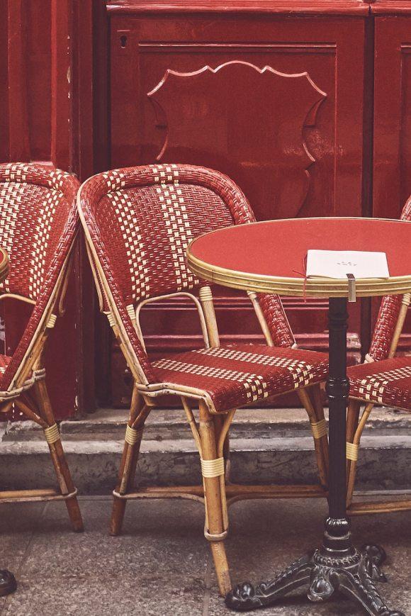 Paris Parisian cafe brasserie