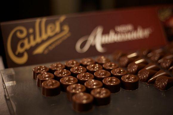 chocolate train Switzerland