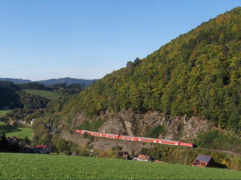 The Hollentalbahn Railway germany