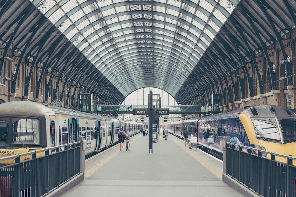 trainline: kings cross st Pancras