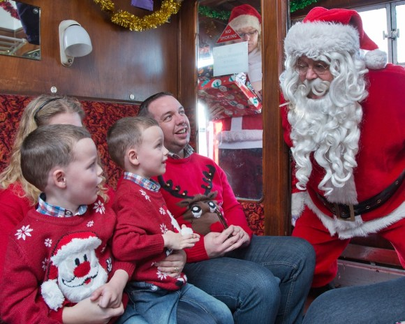 christmas train trip Santa special