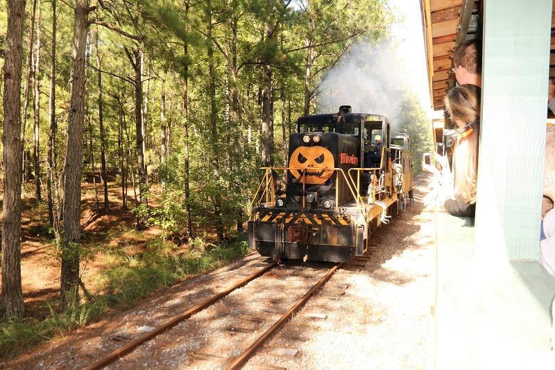 new hope railway halloween
