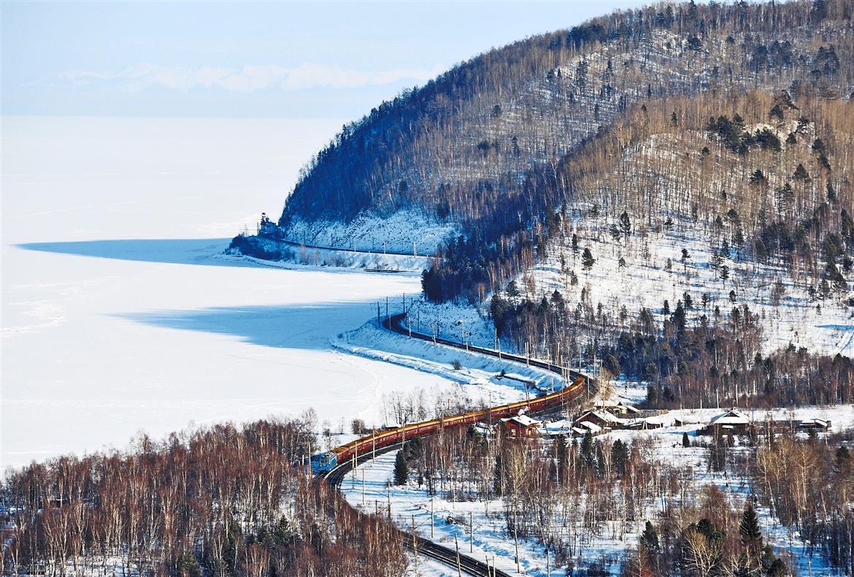 winter train journeys: trans siberian