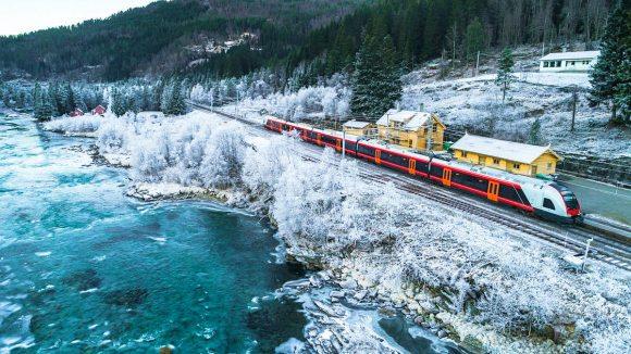 Instagrammable train trips, Oslo to Bergen