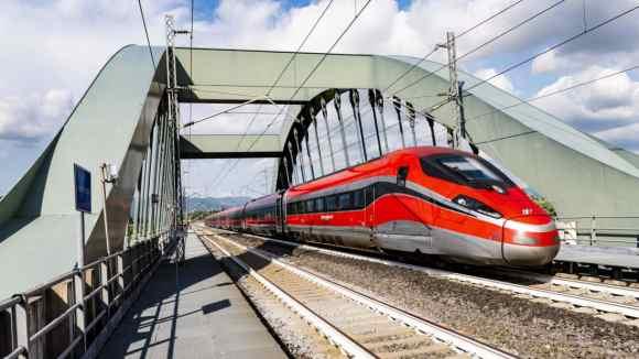 covid-free trains, italy