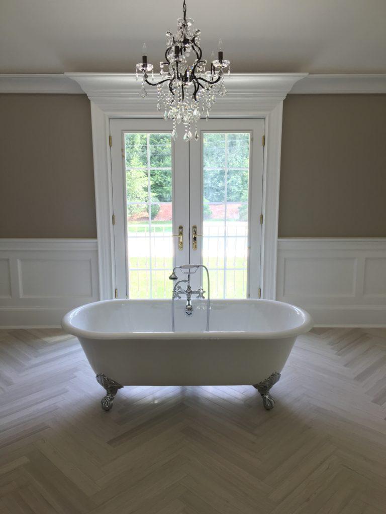 Wooden Beige Bathroom RAI Designs