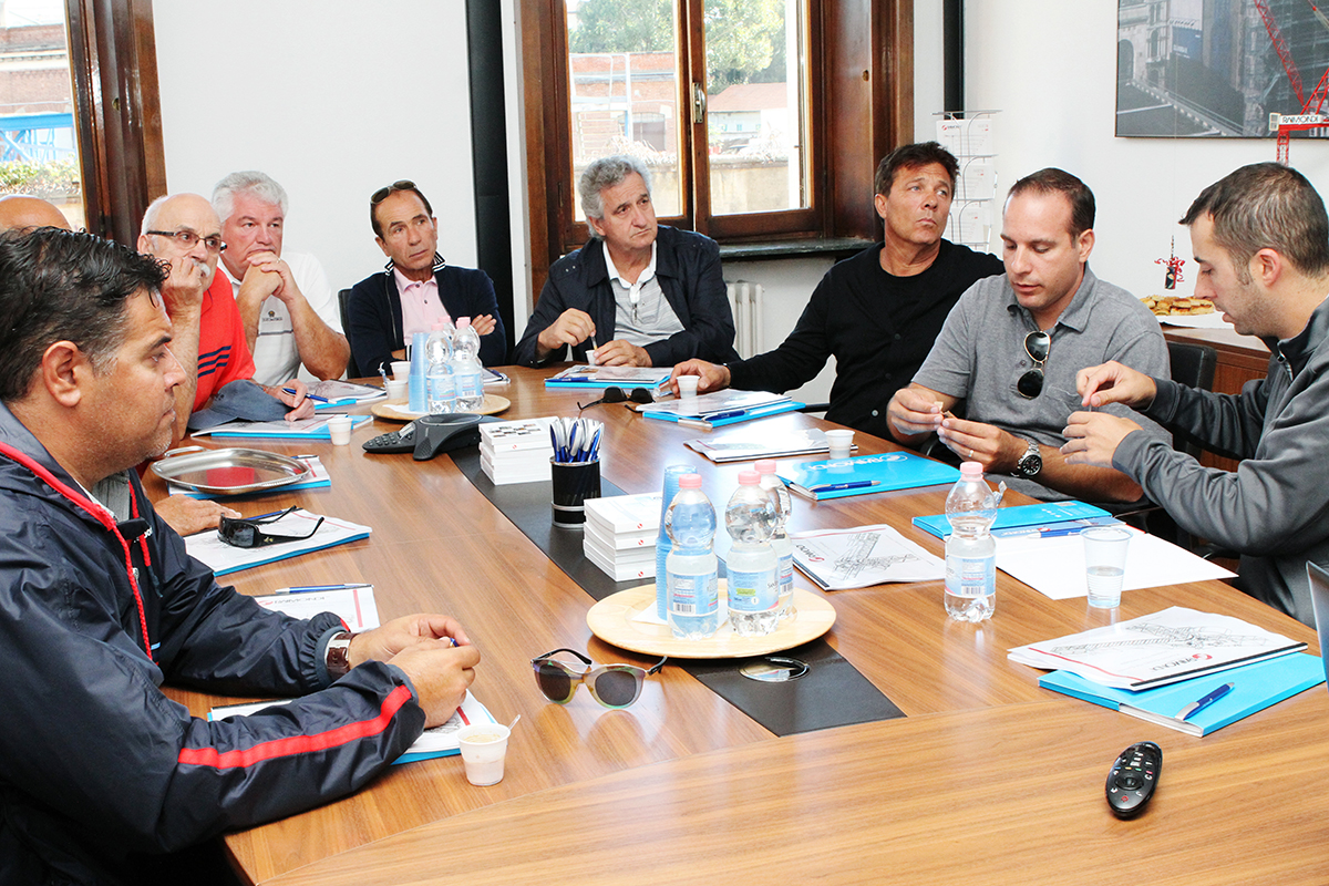 Ontario Formwork Association visits Raimondi Cranes headquarters in Italy