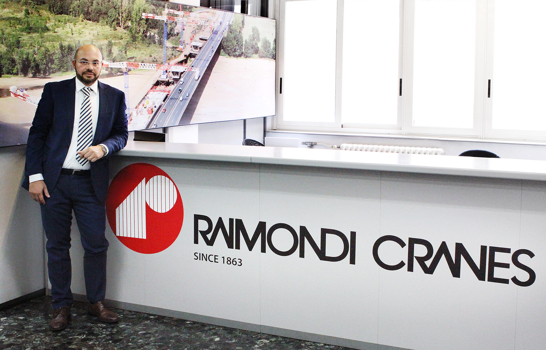 Eng. Domenico Ciano, Technical Director, Raimondi Cranes