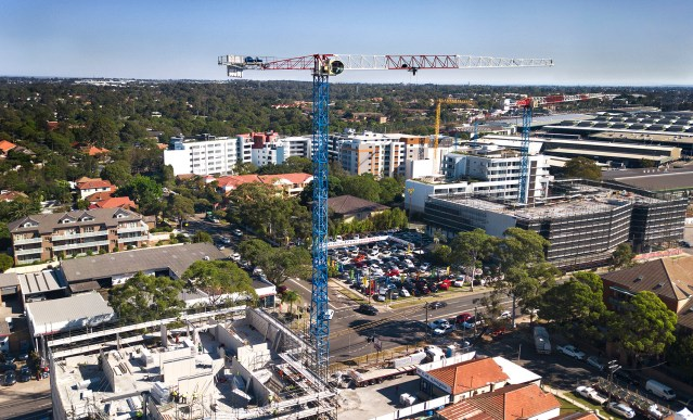 Cranepedia: Strictly Cranes sells new Raimondi cranes to various clients across Sydney