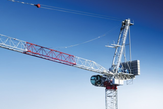 Raimondi unveils the LR273 luffing jib crane at Bauma 2019 in Munich, Germany