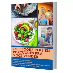 160 Excelentes E-books para Você vender com seu Nome ou Marca própria 100% em Português + Super Bônus