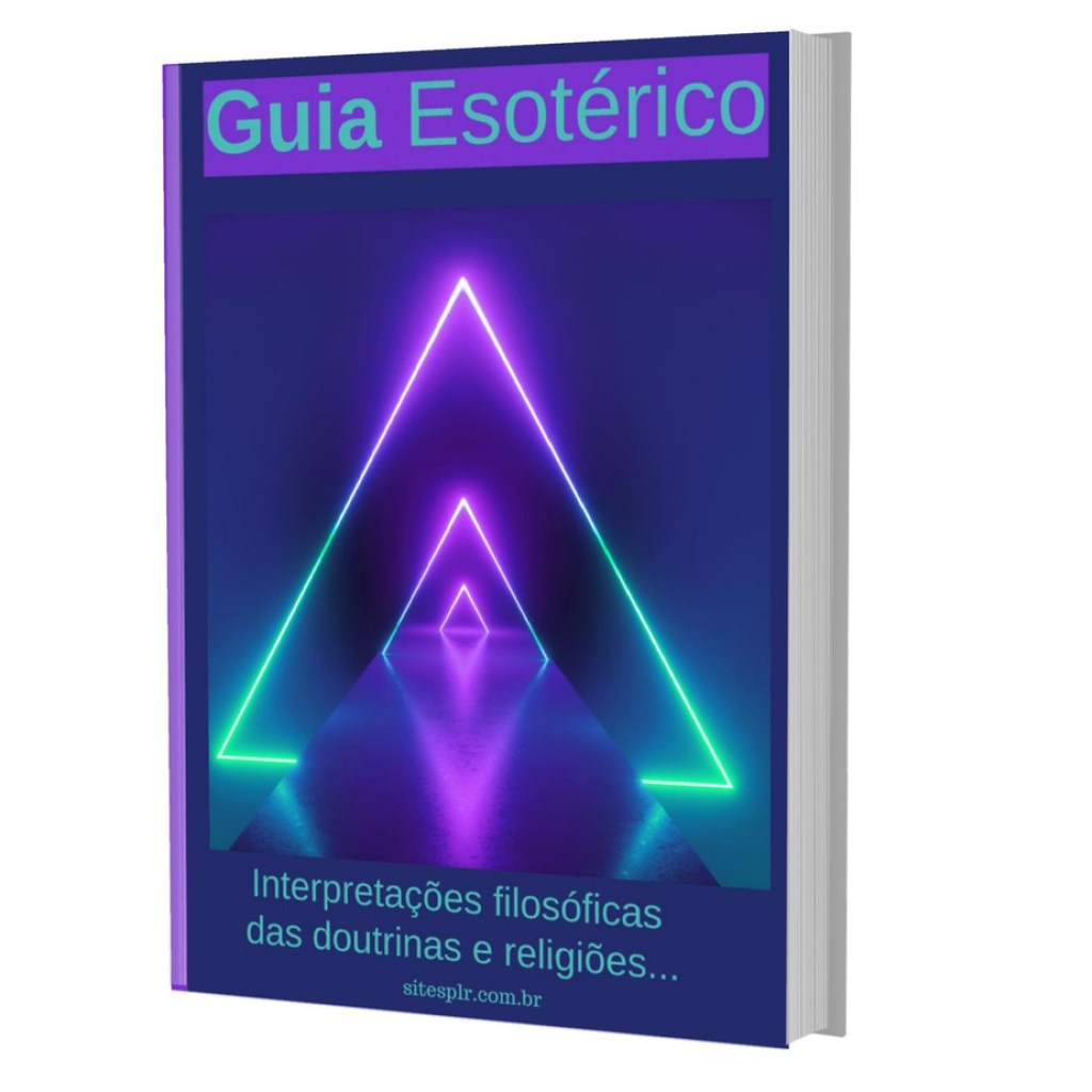 Guia Esoterico - Capa 3D