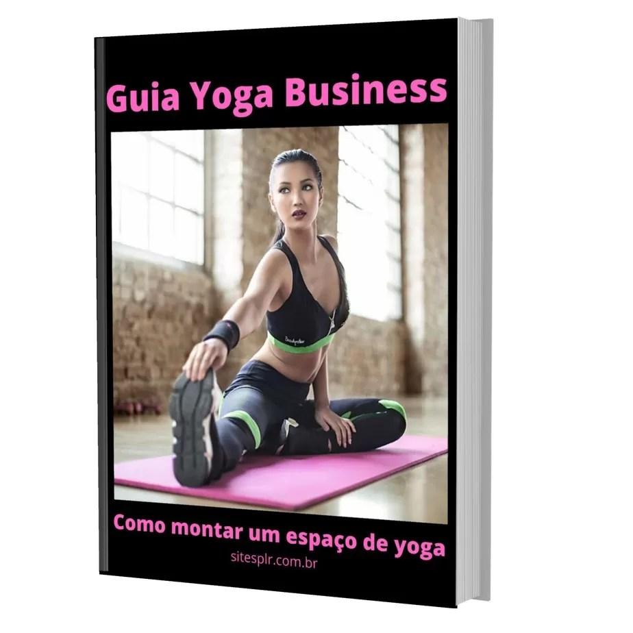 Guia Yoga Business - Capa 3D Preta